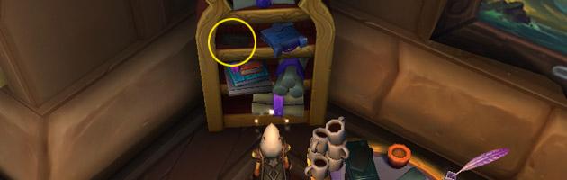 La première page se situe sur une étagère à l'Abracadabar