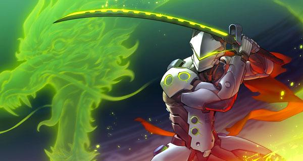 Nouveau héros genji et hanamura, premier champ de bataille Overwatch