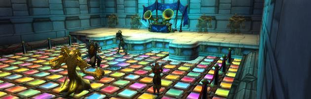 Studio de danse à Hurlevent au patch 7.2.5