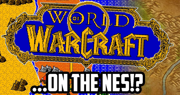 world of warcraft sur la nes : la creation de rkade soup