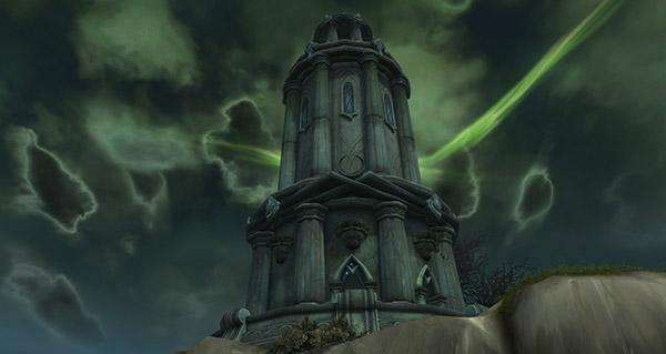 Rivage Brisé : la tour des mages est active