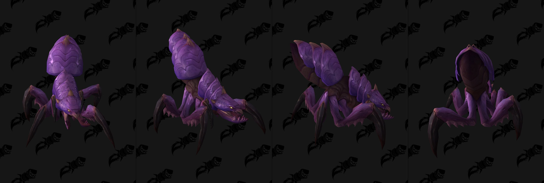 Monture Silithide violette