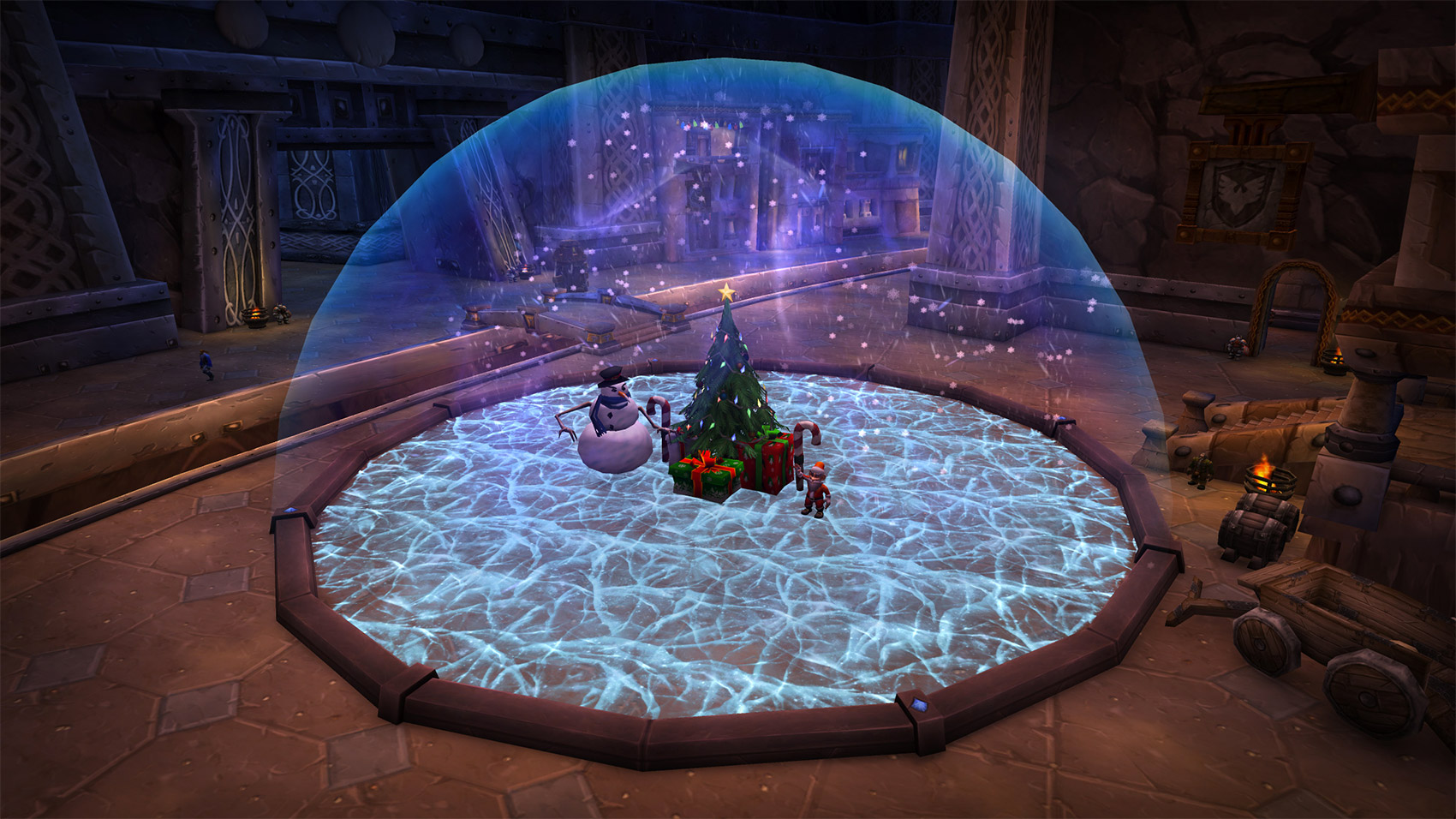 Le yéti apparaît dans les boules à neige de Forgefer et Orgrimmar