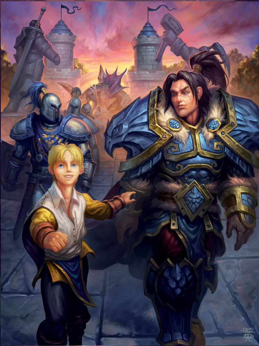 Prince Anduin et Varian Wrynn - Warcraft chronique volume 3