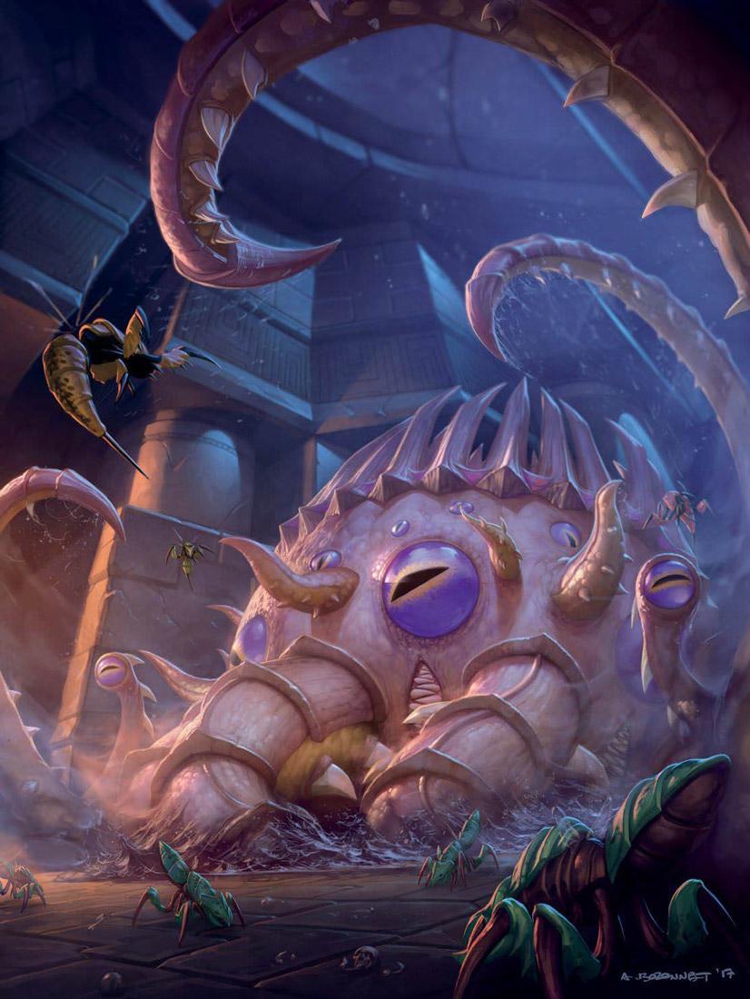 Artwork de C'thun -  Warcraft Chronique Volume 3