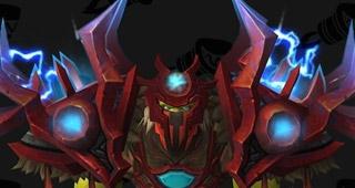 T20 Chaman mythique rouge