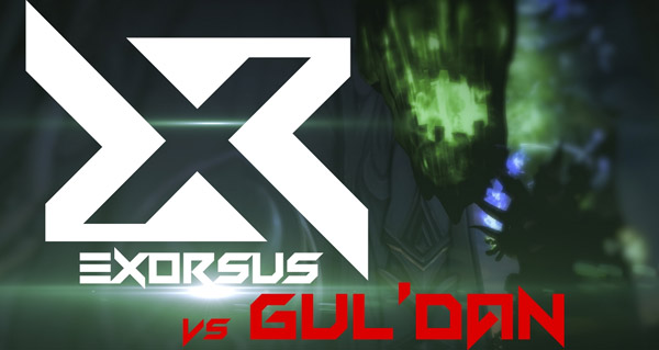 exorsus vs gul'dan : le world first en video
