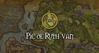Vous devez retrouver Thisalee au pic de Ruth'van