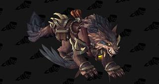 Précision : Loup-faucon redoutable de maître chasseur