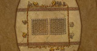 Map Arène des Castagn'ar