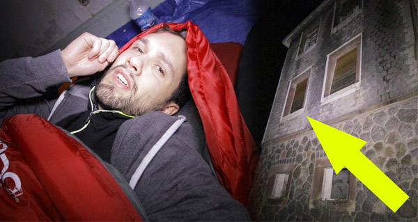 exploration nocturne : une nuit dans un hopital abandonne (feat. le grand jd)
