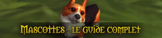 Guide : les mascottes dans World of Warcraft