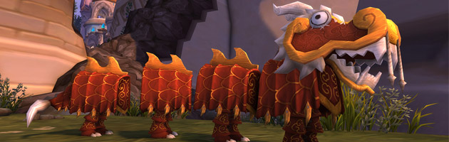Pour l'édition 2017, collectionnez les jouets costume de dragon
