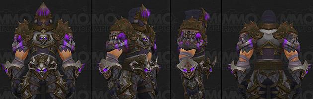 T20 Chevalier de la mort violet
