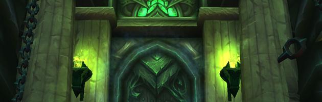 L'entrée de la Cathédrale de la Nuit éternelle, nouveau donjon héroïque de Legion