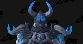 Set T20 Chevalier de la mort bleu