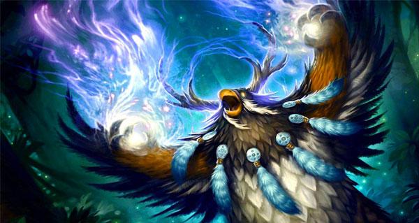 les nouvelles animations du druide, du chasseur et du chevalier de la mort en video