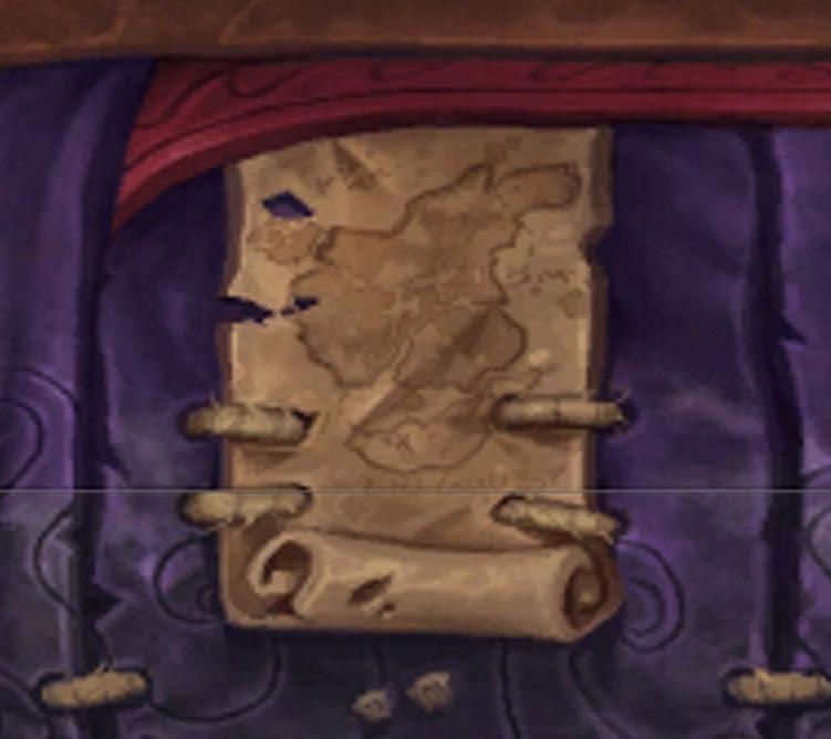 La carte de l'ensemble d'armure de Kul Tiras des Royaumes de test