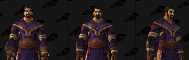 Cet ensemble d'armure semble faire référence à une suite de quêtes liée à Kul Tiras