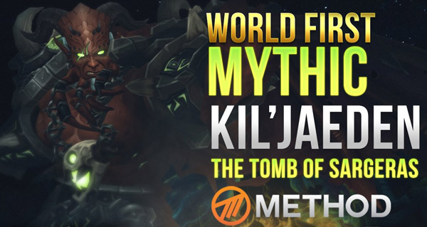 method vs kil'jaeden: le world first en video