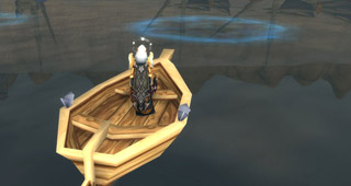 Pêchez dans les nappes de goudron sous-marin