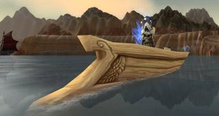 Petit bateau pour Elfe de sang