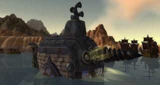 Suivez le sous-marin aux Mille pointes