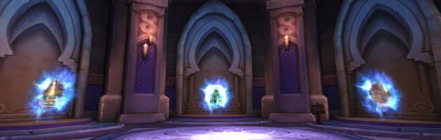 Empruntez le portail ver le Repos du ver dans la Chambre du Gardien
