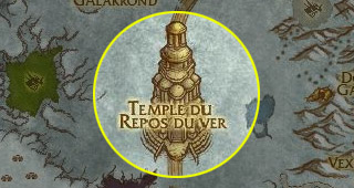 Rendez-vous au Temple du Repos du ver