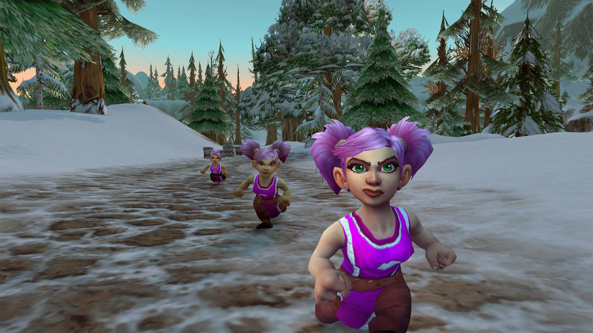 Running of the Gnomes, un événement organisé chaque mois d'octobre depuis 8 ans