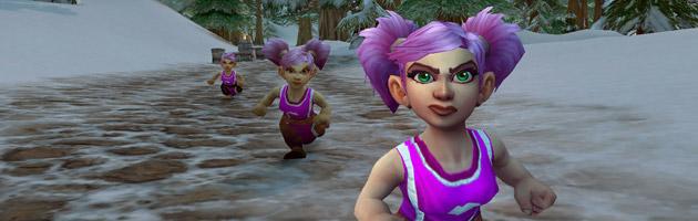 Running of the Gnomes, un événement organisé chaque mois d'octobre depuis 7 ans