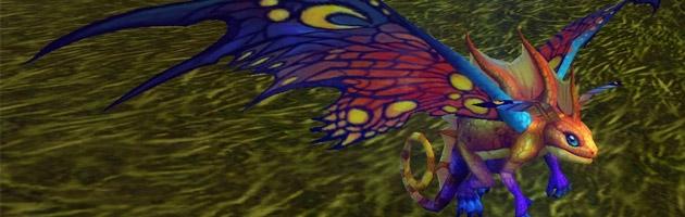 La mascotte cachée Jeune fée du soleil dans World of Warcraft