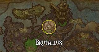 Brutallus a pris position devant la tombe de Sargeras