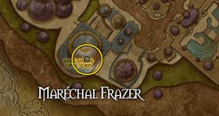 Position du Maréchal Frazer à Dalaran
