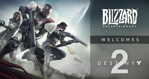 le jeu destiny 2 bientot present sur l'application battle.net