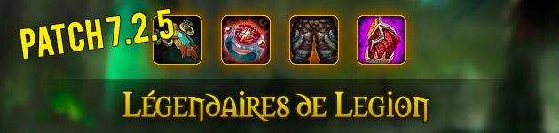 Nouveaux légendaires du patch  : le guide