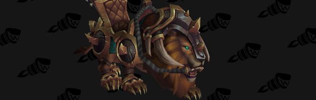 Monture PvP de l'Alliance le Lion de guerre vicieux