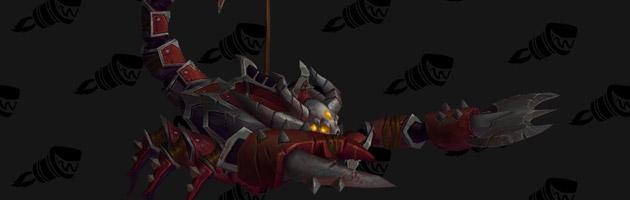 Monture PvP de la Horde le Scorpion de guerre vicieux