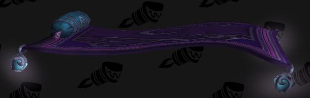 Monture Tapise volant tellurique est un butin aléatoire du cache émissaire Parangon Souffrenuit