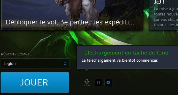 le patch 7.2 de wow est disponible au pre-telechargement
