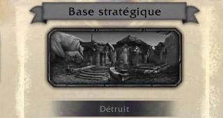 Bâtiment détruit par la Légion