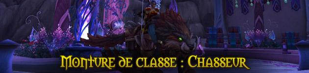 Monture de classe Chasseur : le guide