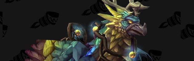 La monture Hippogriffe nuelle du système de réputation Parangon