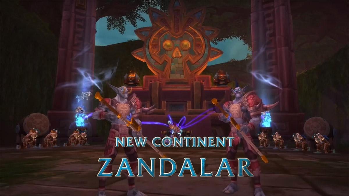 Zandalar est le continent de la horde