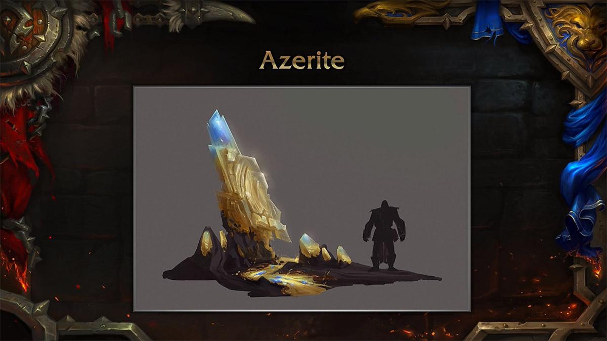L'Azerite est la nouvelle ressource clé de Battle for Azeroth