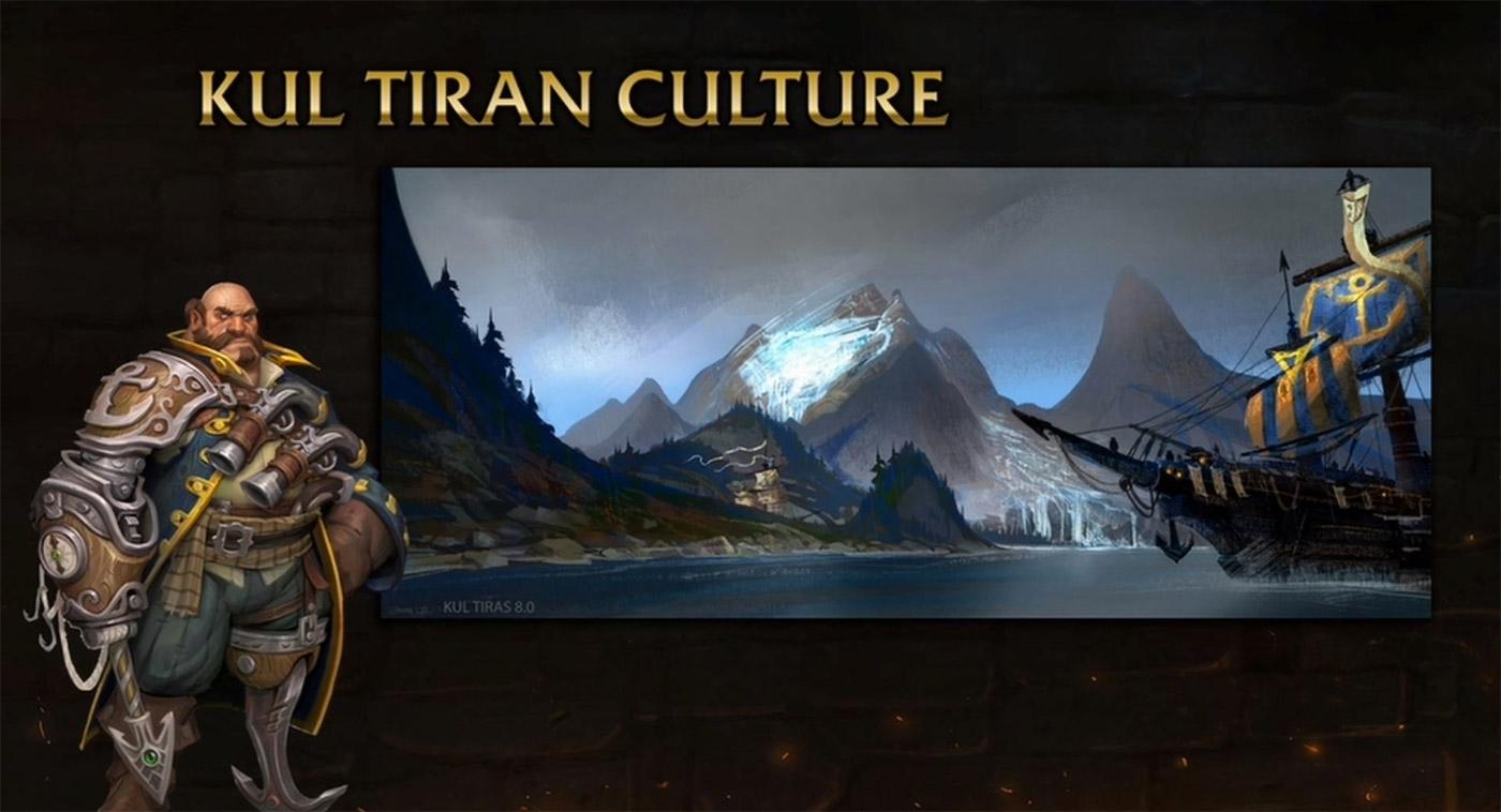 Le peuple de Kul Tiras est fier et très lié à son héritage maritime