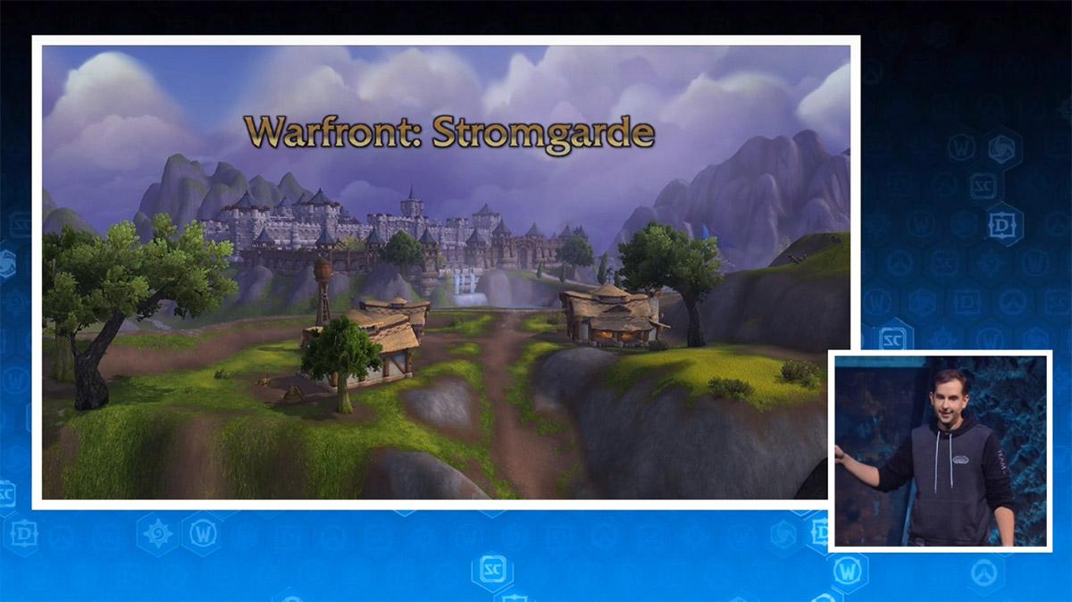 La région de Stromgarde est mise à jour pour Battle for Azeroth