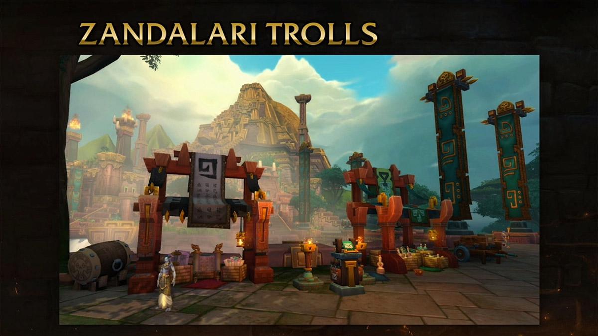 L'environnement Zandalari est inspiré de la culture Aztèque