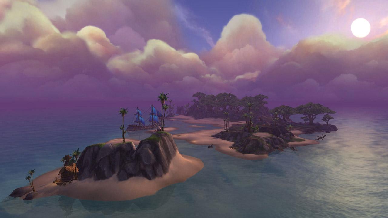 Les îles bénéficient de plusieurs nouveautés au pach 8.1