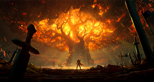 battle for azeroth : teldrassil en feu - speculations et theories